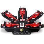 Pack 5 Hot Wheels - 1:43 - Coleção Ferrari Michael Schumacher Campeão do Mundo - Hot Wheels Racing - L6237