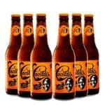Pack 6 Cervejas Ampolis Cacildis do Mussum 355ml