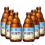 Pack 6 Cervejas Belga Vedett Extra White 330ml