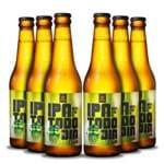 Pack 6 Cervejas Campinas IPA Todo Dia 355ml