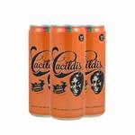 Pack 3 Cervejas Ampolis Cacildis 350ml Lata
