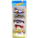 Pack de 5 Carrinhos Hot Wheels - HW Extreme Race - FYL11