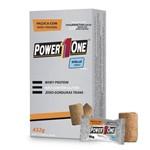 Paçoca com Whey - Power One - 24 Unidades de 18g Cada