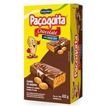 Paçoquita Coberta com Chocolate 432g - Santa Helena