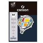 Pacote Canson Color Azul Marinho 180g/M² A4 210 X 297 Mm com 10 Folhas - 66661202