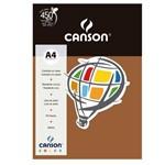 Pacote Canson Color Chocolate 180g/M² A4 210 X 297 Mm com 10 Folhas - 66661273