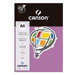 Pacote Canson Color Lilás 180g/M² A4 210 X 297 Mm com 10 Folhas - 66661198