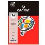 Pacote Canson Color Vermelho 180g/M² A4 210 X 297 Mm com 10 Folhas - 66661193