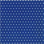Pacote de Guardanapos Descartaveis Bolinhas Azul Escuro