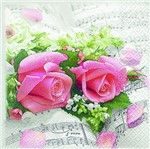 Pacote de Guardanapos Descartaveis Sinfonia das Flores