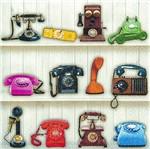 Pacote de Guardanapos Descartaveis Telefones