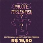 Pacote Misterioso Camisetas Feminino Pacote Misterioso Camisetas - Feminino - P