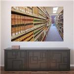 Painel Adesivo de Parede - Biblioteca - N2348