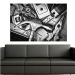 Painel Adesivo de Parede - Bricolagem - N2029