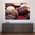 Painel Adesivo de Parede - Chocolate - N2386