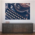 Painel Adesivo de Parede - Máquina de Escrever - N1238