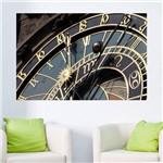 Painel Adesivo de Parede - Relógio Astronômico - N2012