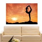 Painel Adesivo de Parede - Yoga - N1101