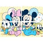 Painel Baby Mickey e Amigos Regina Festas com 1 Unidade 126x88cm