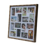 Painel Bambu Collection para 16 Fotos 10X15 61X61X5cm
