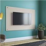 Painel com Botões para TV Até 60 Polegadas 90cmx136cm Kappesberg Linho Titânio