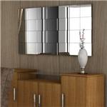 Painel Criative 136x68 Cm Preto Textura com - Cel Móveis