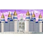 Painel de Festa Castelo Azul e Borboletas
