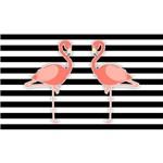 Painel de Festa Flamingos 002-180x120cm
