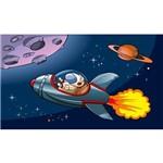 Painel de Festa Nave Espacial Astronauta