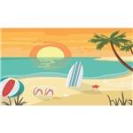 Painel de Festa Praia Surf
