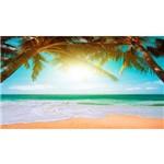 Painel de Festa Praia Tropical Perfeita