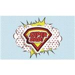 Painel de Festa Super Pai-100x070cm