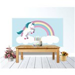 Painel de Festa Unicornio Cha de Bebe