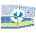 Painel Gigante Baby Shower Azul