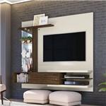Painel/home Bancada para Tv Friz 1.8 - Off White/savana