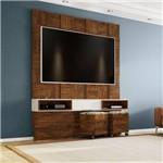 Painel Quadriculado para Tv de 65 Polegadas 1 Gaveta Tb125 Dalla Costa