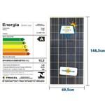 Painel Solar Yingli Aldo Solar Yl150p-17b 36 Celulas Policristalino 150w