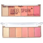 Paleta Blush Ruby Rose Angel Spark Pocket Kit Estojo HB-6108