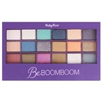 Paleta com 18 Sombras e 1 Primer Be BOOMBOOM Ruby Rose