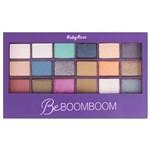 Paleta com 18 Sombras e 1 Primer Be BOOMBOOM Ruby Rose