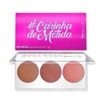 Paleta de Blush #Carinhademetida Boca Rosa Beauty By Payot