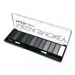 Paleta de Sombra 12 Cores Mega Smokey Luisance