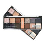 Paleta de Sombras + Primer Pocket Classic By Nature Ruby Rose Hb-9943