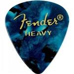 Palheta Celulóide Shape Premium 351 Heavy Ocean Turquoise Fender
