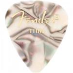 Palheta Celulóide Shape Premium 351 Thin Abalone Fender