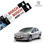 Palheta Limpador Parabrisa 408 11-17 Bosch
