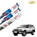 Palheta Limpador Parabrisa Diant+Tras Blazer 1996-2011 Bosch