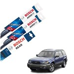 Palheta Limpador Parabrisa Diant+Tras Forester 02-12 Bosch