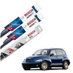Palheta Limpador Parabrisa Diant+Tras PT Cruiser 2000-2010