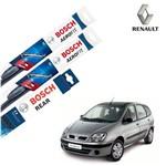 Palheta Limpador Parabrisa Diant+Tras Scenic 1999-2010 Bosch